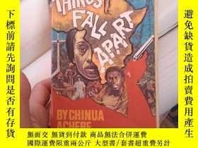 二手書博民逛書店Things罕見Fall Apart 外文原版Y14465 出版1959