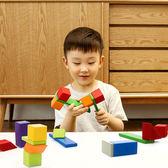 積木玩具 小米米兔兒童磁力積木嬰幼兒啟蒙磁力片拼搭積木男孩女孩益智玩具