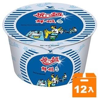 統一麵 鮮蝦風味 83g (12碗入)/箱【康鄰超市】