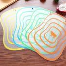 4色1組-卡通分類PP砧板菜板- 中 桌墊 野餐墊