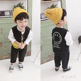 中大尺碼男童秋季套裝寶寶牛仔馬甲兩件套3sd2175『夢幻家居』