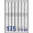 Unistar 裕德3合1電腦標籤紙 (26)US1127 175格 (100張/盒)