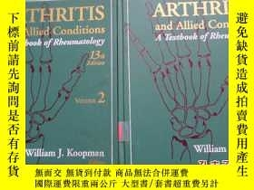 二手書博民逛書店ARTHRITIS罕見and Allied Conditions