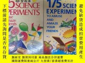 二手書博民逛書店175罕見MORE SCIENCE EXPERIMENTS 兩本