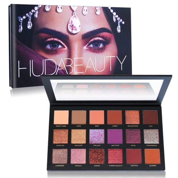 Huda Beauty Desert Dusk Palette沙漠黃昏18色眼影盤(25.2g)