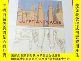 二手書博民逛書店EGYPTIAN罕見PLACES AN ILLUSTRATED TRAVELOGUEY408729 HENPY