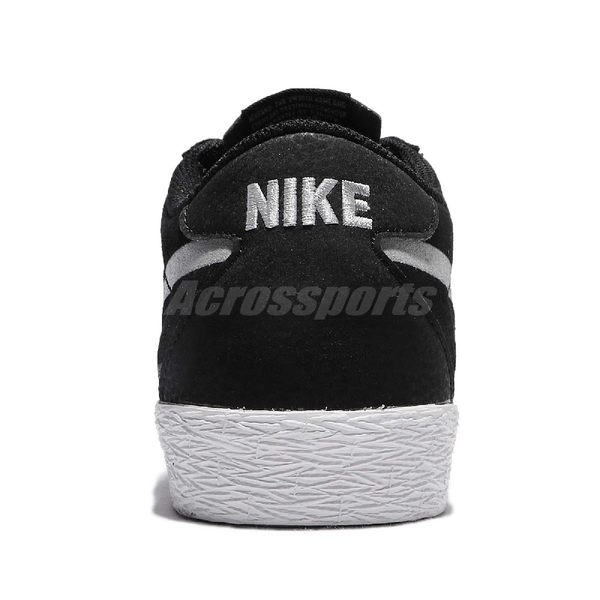Nike 滑板鞋 SB Bruin Zoom PRM SE 黑 灰 麂皮 運動鞋 休閒鞋 男鞋【PUMP306】 631041-001