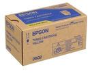S050602 EPSON 原廠黃色碳粉...