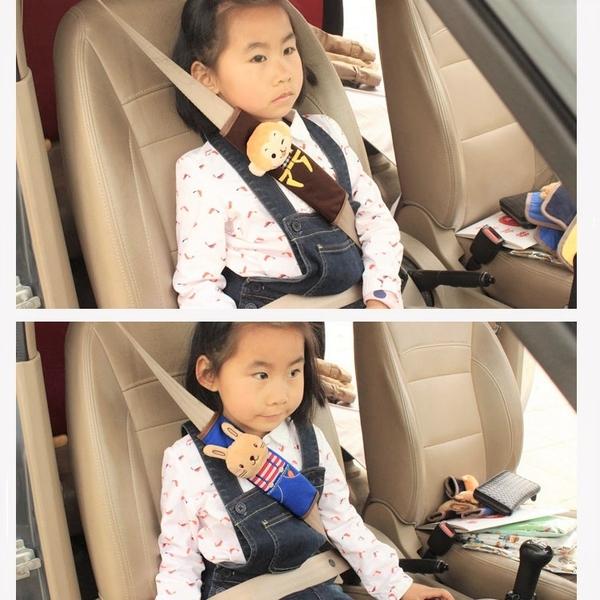 卡通動物汽車安全帶護肩 汽車安全帶 安全帶護套 護肩套【AE10399】99愛買小舖
