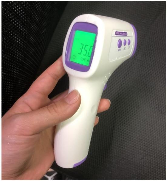 【台灣寄出 現貨速發】體溫槍電子體溫計精準測溫槍紅外線額溫槍非耳溫槍測體溫口罩酒精/澤米