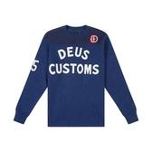 Deus Ex Machina Moto X Knit 長袖T恤-男/女(藍)