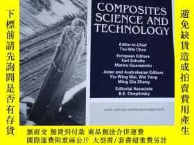 二手書博民逛書店Composites罕見Science and Technolo