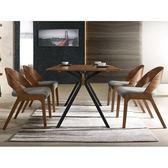 餐桌 MK-939-2 多瑪士5.3尺餐桌 (不含餐椅)【大眾家居舘】