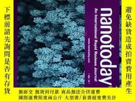 二手書博民逛書店Nano罕見Today (Journal) VOL 16 2017納米科學技術學術期刊Y14610