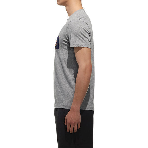 Adidas Gfx Lnr Floc 男 灰 短袖 上衣 大學T 衛衣 運動 棉 毛圈棉衛衣 愛迪達 短袖T恤 CX4987