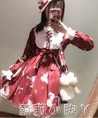 蘿莉裝洛麗塔洋裝日系軟妹可愛蘿莉lolita日常學生公主娃娃洋裝子春夏 NMS蘿莉小腳丫