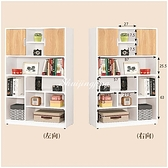【水晶晶家具/傢俱首選】JM1700-7 卡爾3X4.6尺低甲醛防蛀木心板開放書櫥~~雙向可選