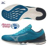 MIZUNO WAVE SHADOW 4 男鞋 慢跑 3E寬楦 ENERZY 回彈 推進 藍【運動世界】J1GC202713