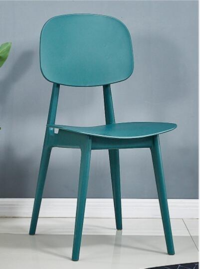 ( 促銷95折 ) 【2張起售】北歐餐廳餐椅簡約靠背辦公椅創意塑料洽談椅子-HYQ