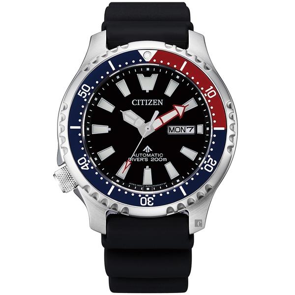 亞洲限定款 CITIZEN 星辰 PROMASTER 鋼鐵河豚EX潛水機械錶-44mm(NY0110-13E)