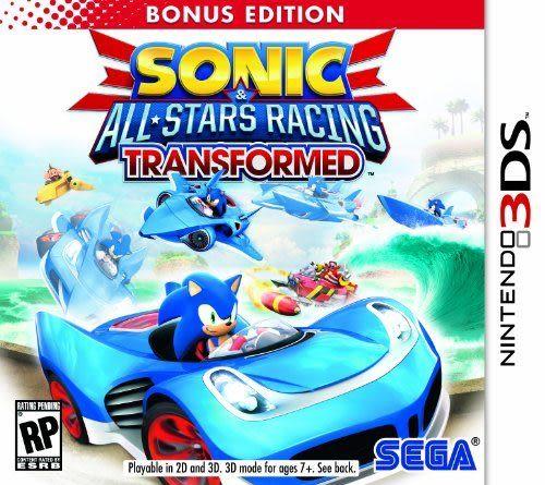 3DS Sonic and All-Stars Racing Transformed Bonus Edition 音速小子 & SEGA 超級巨星大賽車:變形(美版代購)