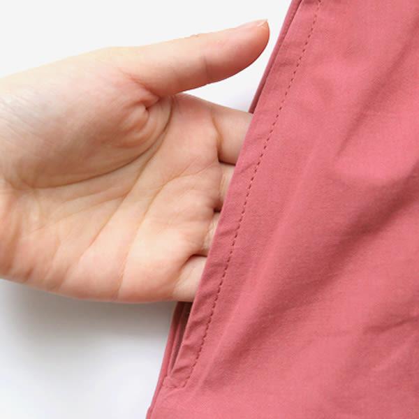 MIUSTAR 簡約設計!素面交叉綁帶挺版洋裝(共2色)【NF3722LC】預購