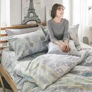 床包 / 單人【迷草醉月-兩色可選】含一件枕套  AP-60支精梳棉  戀家小舖台灣製AAS101