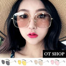 OT SHOP太陽眼鏡‧復古大方框抗UV...