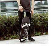 新年鉅惠專業四輪滑板初學者成人青少年兒童男女生雙翹滑板車 東京衣櫃