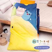 【R.Q.POLO】私奔到月球 胖卡系列兒童冬夏兩用鋪棉書包睡袋(4.5X5尺)