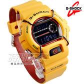 G-SHOCK GLS-6900-9 CASIO卡西歐 GLS-6900-9 極限運動街頭時尚運動電子錶G-LIDE系列 男錶 鮮黃 GLS-6900-9DR