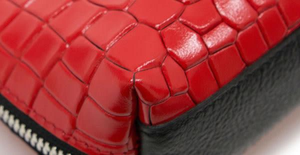 MSPC(master-piece) COCO No.04580[馬皮鱷魚壓紋收納包]
