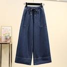 寬鬆版型牛仔寬褲2L-3L J3218...