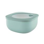 義大利Guzzini 耐熱淺身保鮮盒中-綠975c.c