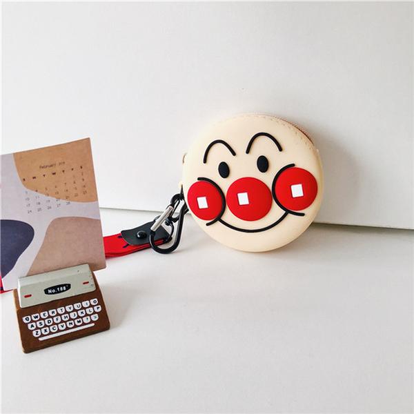 🍏手機周邊必備小物🍏日本麵包超人 矽膠零錢包  Airpods 收納小包包 耳機充電線數據線 集合袋