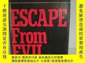 二手書博民逛書店厄內斯特·貝克爾罕見Escape from Evil by Er
