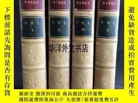 二手書博民逛書店【罕見】 1808年出版THE WORKS OF LAURENC