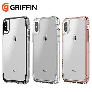 Griffin Survivor Clear iPhone X 透明軍規防摔保護殼