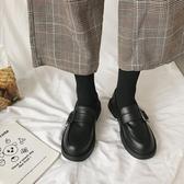 ins小皮鞋女英倫學院風新款潮鞋秋冬季加絨韓版百搭學生單鞋 瑪麗蘇