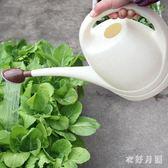 大號灑水壺家用澆花種菜長嘴塑料大容量噴壺 QW6594【衣好月圓】