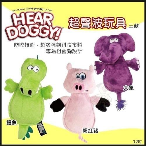 *King Wang*Hear Doggy《超聲波玩具系列》 超級強韌耐咬布料,專為粗魯狗設計/三款隨機出貨