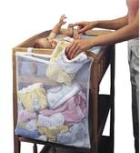衣童趣♥多 用途寶寶床收納袋可放尿布衣服大容量收納整齊乾淨玩具收納袋
