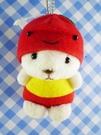 【震撼精品百貨】日本日式精品_熊_Bear~變身絨毛娃娃-熊變蘋果