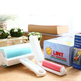 《魔特萊》環保日式萬用黏巴達自黏除塵滾筒〈1大1小隨手即可黏〉-日式萬用清潔衣物毛毯毛髮