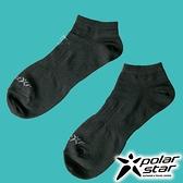 PolarStar 中性排汗踝襪『黑』P18523 露營.戶外.登山.排汗襪.彈性襪.紳士襪.休閒襪.短襪.長襪