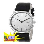 [104美國直購] 男士手錶 Skagen Men s 858XLSLC Theodor Quartz 2 Hand Stainless Steel Black Watch $4354
