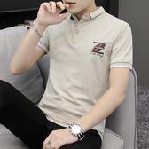 男短袖POLO衫 休閒男裝上衣 新款夏裝 成熟領導裝吸汗商務短袖T恤不變色打底衫韓版男短csZ232