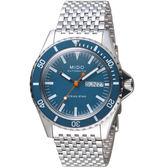 MIDO美度海洋之星TRIBUTE 75週年特別腕錶 M0268301104100 藍