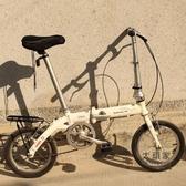 自行車貨架 電動折疊自行車14寸后貨架行李架實心鋼v/碟剎風行尾架后衣架T