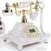 復古電話田園風格仿古電話機 歐式機 金屬質感免提背光電話 NMS陽光好物